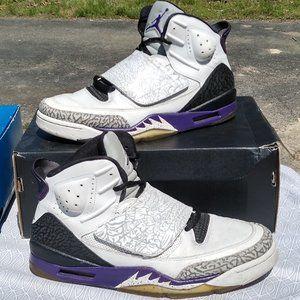 Nike air jordan Sons of Mars concord black white